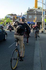 Ride to Work Day, Toronto 2013