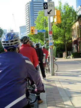 Davenport St. bike lane