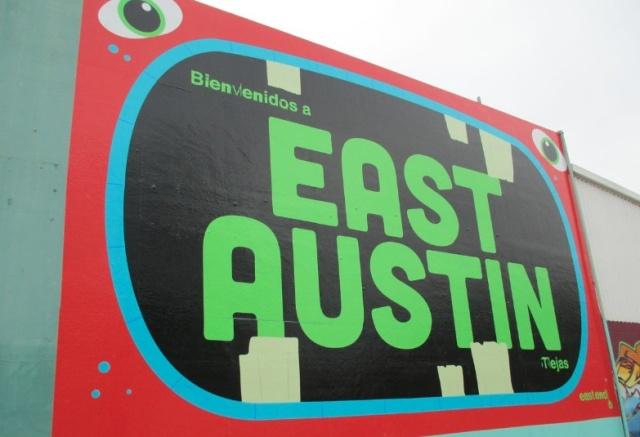 East Austin sign