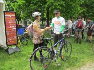 Bike valet exchange