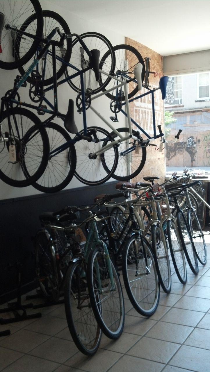 New bikes on display