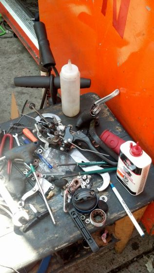 Bike supplies and tools